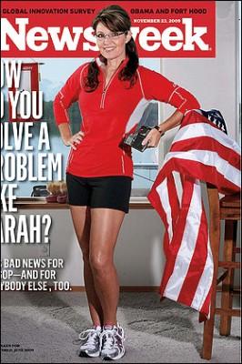 Palin Newsweek Runners World Cover
